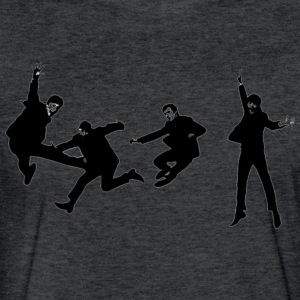 beatles jump - Fitted Cotton/Poly T-Shirt by Next Level