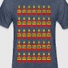 Louisiana HotSauce Tee - Fitted Cotton/Poly T-Shirt by Next Level