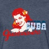 Cuba Girl Guantanamera - Fitted Cotton/Poly T-Shirt by Next Level