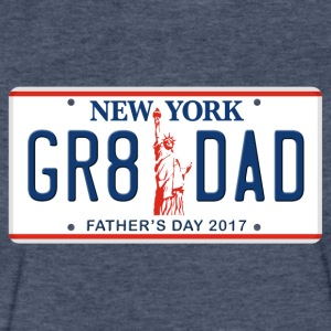 Great Dad - Happy Father's Day - New York - Fitted Cotton/Poly T-Shirt by Next Level