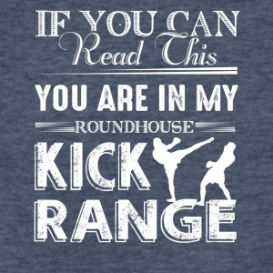 Roundhouse Kick Range Shirt - Fitted Cotton/Poly T-Shirt by Next Level