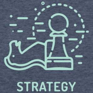 Strategy - Fitted Cotton/Poly T-Shirt by Next Level