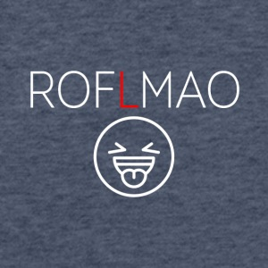 ROFLMAO - Fitted Cotton/Poly T-Shirt by Next Level