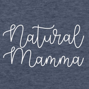 Natural Mamma - Fitted Cotton/Poly T-Shirt by Next Level