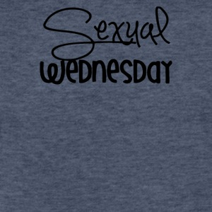 Sexual Wednesday - Fitted Cotton/Poly T-Shirt by Next Level