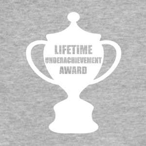 Funny Slacker Award, Gag Gift - Fitted Cotton/Poly T-Shirt by Next Level
