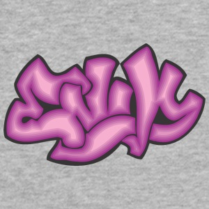enk_graffiti - Fitted Cotton/Poly T-Shirt by Next Level