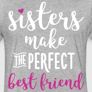 funny sister t-shirts - Fitted Cotton/Poly T-Shirt by Next Level