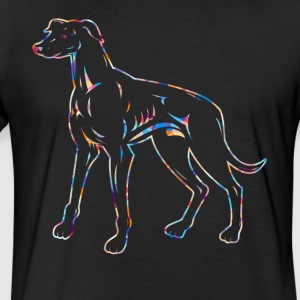 Greyhound Tee Shirt - Fitted Cotton/Poly T-Shirt by Next Level