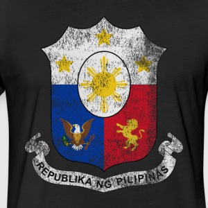 Filipino Coat of Arms Philippines Symbol - Fitted Cotton/Poly T-Shirt by Next Level