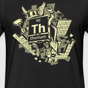 Mighty Thorium - Fitted Cotton/Poly T-Shirt by Next Level