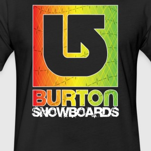 Burton Snowboard Sport Logo - Fitted Cotton/Poly T-Shirt by Next Level