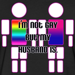Bisexual man married to gay man - Fitted Cotton/Poly T-Shirt by Next Level