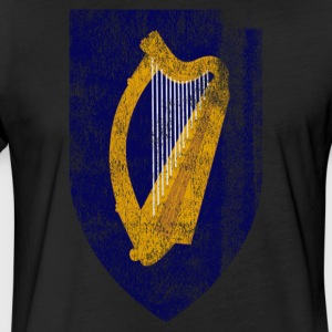 Irish Coat of Arms Ireland Symbol - Fitted Cotton/Poly T-Shirt by Next Level