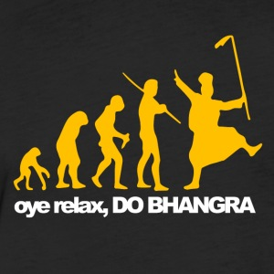 Bhangra Evolution - Fitted Cotton/Poly T-Shirt by Next Level