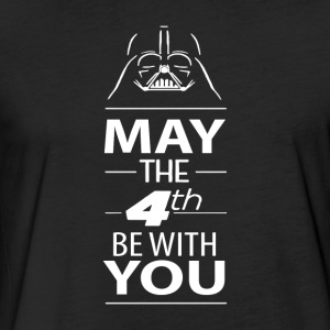 May The Force Be With You - Fitted Cotton/Poly T-Shirt by Next Level