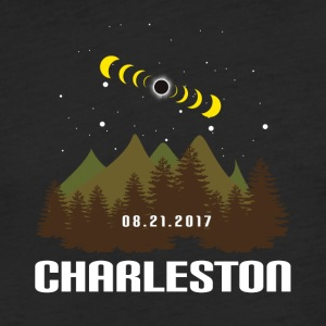 Total Solar Eclipse 08.21.2017 Charleston - Fitted Cotton/Poly T-Shirt by Next Level