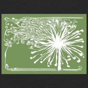 Some See Weeds, Some See Wishes Green - Fitted Cotton/Poly T-Shirt by Next Level
