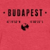 Budapest - Fitted Cotton/Poly T-Shirt by Next Level