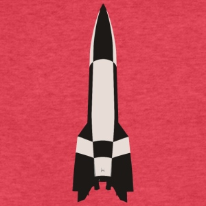 V2 Missile - Fitted Cotton/Poly T-Shirt by Next Level