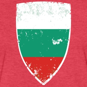 Flag of Bulgaria - Fitted Cotton/Poly T-Shirt by Next Level