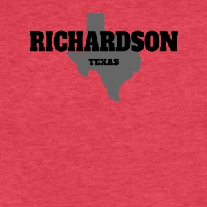 TEXAS RICHARDSON US STATE EDITION - Fitted Cotton/Poly T-Shirt by Next Level