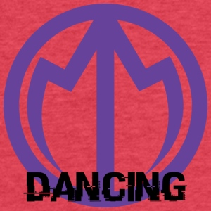 Monarch Dancing - Fitted Cotton/Poly T-Shirt by Next Level