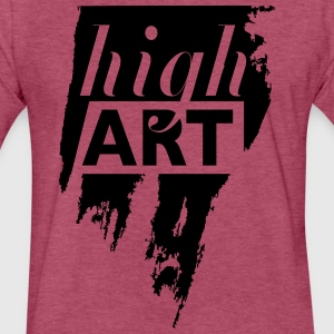brush stroke high art - Fitted Cotton/Poly T-Shirt by Next Level