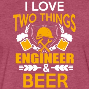 ENGINEER AND BEER T Shirt - Fitted Cotton/Poly T-Shirt by Next Level