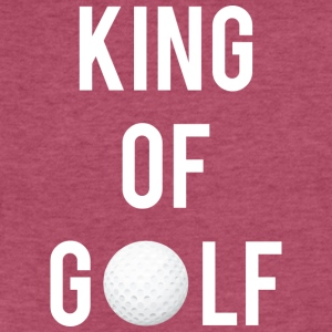 King of Golf - Fitted Cotton/Poly T-Shirt by Next Level