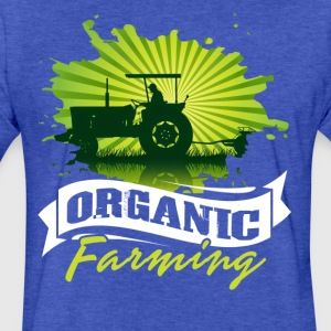 ORGANIC FARMING TEE SHIRT - Fitted Cotton/Poly T-Shirt by Next Level