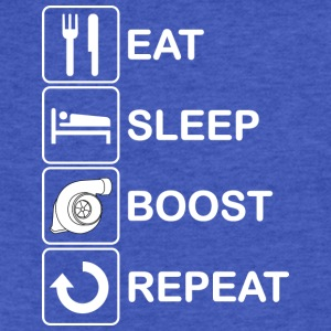Eat Sleep Boost Repeat - Fitted Cotton/Poly T-Shirt by Next Level