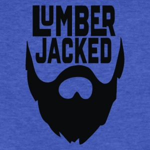 Lumber Jacked - Fitted Cotton/Poly T-Shirt by Next Level