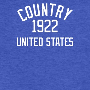 Country Music 1922 - Fitted Cotton/Poly T-Shirt by Next Level