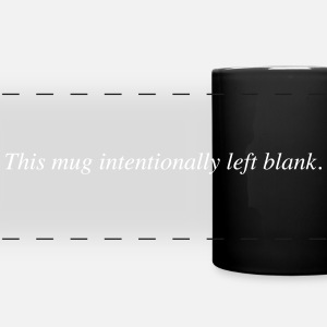 mug intentionally blank