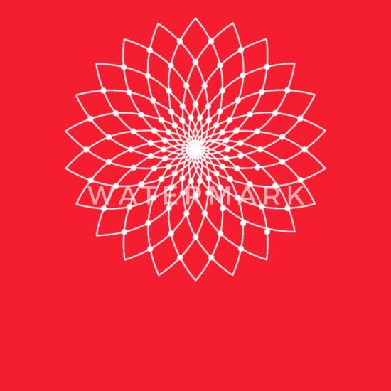 Sacred Geometry Lotus Flower Full Color Panoramic Mug Spreadshirt