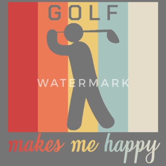 Golf Golfer Quotes Golfing Caddy Happiness Gift Computer