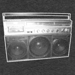 Boombox - Nostalgic - Bronx - Streetmusic - Sweatshirt Cinch Bag