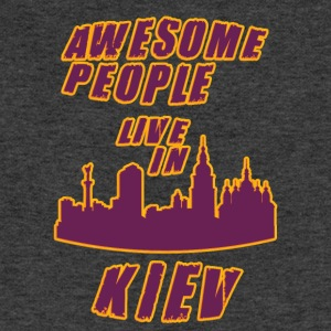 KIEV Awesome people live in - Sweatshirt Cinch Bag