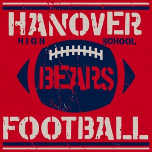 Hanover High School Bears Football - Sweatshirt Cinch Bag