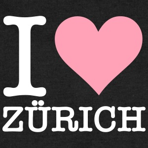 I Love Zurich - Sweatshirt Cinch Bag