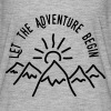 AD Let the Adventure Begin - Women's Flowy T-Shirt