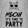 Meow it's time to party - Women's Flowy T-Shirt