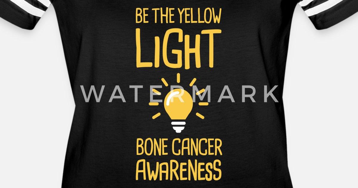 Light - Bone Cancer Sarcoma Awareness Women s Vintage Sport T-Shirt ... 445be2048
