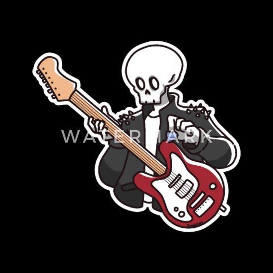 Hard Rock Festival T-Shirt Womens biker music guitar skull ladies retro
