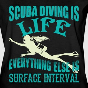 Scuba Diving Is Life T Shirt - Women's Vintage Sport T-Shirt