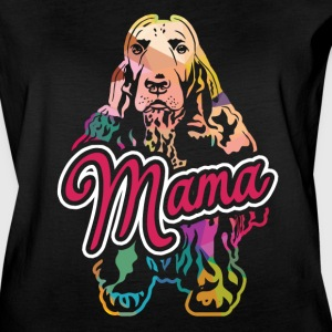 English Cocker Spaniel Mama Shirt - Women's Vintage Sport T-Shirt