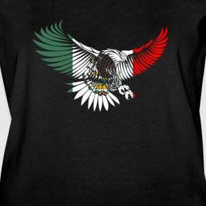 Cool Flying Eagle Mexican Shirt Mexican Flag Shirt for Mexican Pride - Women's Vintage Sport T-Shirt