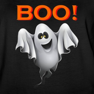 Ghost saying Boo halloween costume - Women's Vintage Sport T-Shirt