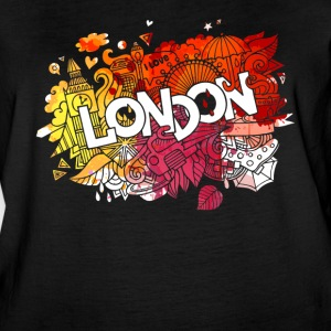 I LOVE LONDON SHIRT - Women's Vintage Sport T-Shirt